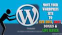 transfer your WordPress Site to any Host in 24hrs