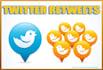deliver 1,000 Twitter retweets