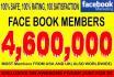 promo website, or business 4,500,000 peoples on social media