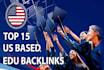 build 15,Usa,edu backlinks from authority domains