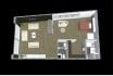 draw 3d architectural floor plan