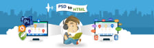 convert PSD to Static Web Page