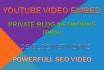 do 25 PBN youtube video embeds