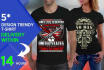 design Trendy t shirt for teespring
