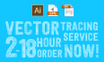 vectorize logo or graphics within 2 to 18 hours