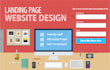 design A Creative Landing page For You