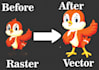 vectorize, convert your logo or graphic To Vector