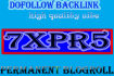 give link PR5x7 site blogroll permanent