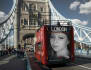 put your photograph on a London bus on London bridge