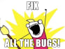 inspect javascript, jQuery, html,css bugs and fix these bugs
