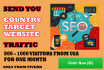 drive Keyword target usa targeted,visitors website,traffic