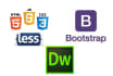 provide services in css, css3, html, html5