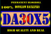 give link DA30x5 site blogroll permanent