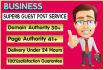 do Guest Post in DA30 Business Blog