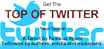 major book promotion by famous agent Top of Twitter your Genre