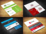 design 2 sided  business card with 5 realistic mock in 24 hrs