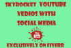 do Social Media Promotion Of YOUTUBE Vedios for views