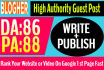 write and publish your guest post on Blogher