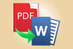 convert PDF files to Word,Excel, Image and Powerpoint
