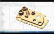 2d and 3D Modeling and designing oh mechanical machine parts