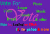 reach your online voting contest for award