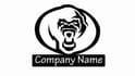 make a gorilla face logo for you