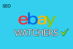 promote your eBay Listing for Watchers