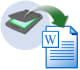 write your scan documents into word file with in 24 hours