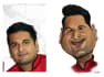 create funny caricatures of people and animals