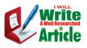 do PROFESSIONAL Article Writing