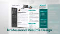 design Professional Resume Design for you
