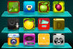 design amazing app icons with any style for you