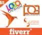 make your company logo diffrent looks