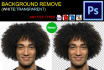 remove Background 25 images with white or transparent