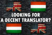 professionally translate anything between English and Hungarian