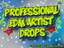give you 3 professional artist drops