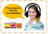 transcribir cualquier archivo en Español o Catalan 30 min