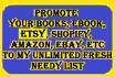 promote your website,solo ads, mlm,ebay, product, amazon,Shopify,Etsy, or Ebook
