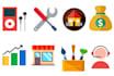 design premium flat icons