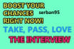 show you how to take that INTERVIEW