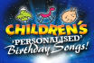 create an amazing  personalised childrens birthday song