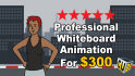 do a Professional Whiteboard Explainer Video