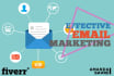 create an ENTICING  email series or follow ups for your email marketing