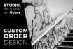 design professional CUSTOM job with concept