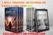 create eye catching 3D eCOVER From Your Existing 2D Cover