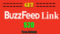 give a BuzzFeed link with free Awesome Article