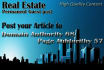 post your article to DA68 Real state Permanent Guest post