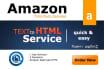 convert your 6 Amazon Descriptions to HTML