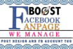 market FB Fan pages or Post to boost following