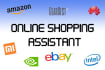 help you with your online shopping